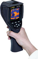 Thermal Imaging IR Camera features built-in user configurable emissivity table.