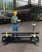 Pipe Rack Scales Weigh, Count and Transport