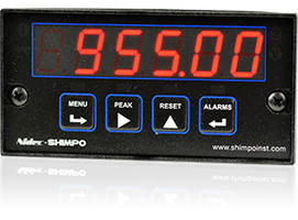 1/8 DIN Temperature Meters offer read rate of 60 conversions per second.