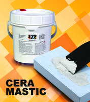 Cera Mastic Refractory Putty dries at room temperature.