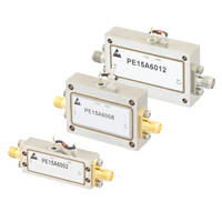 Coaxial Broadband Limiting Amplifiers come in hermetically-sealed packages.