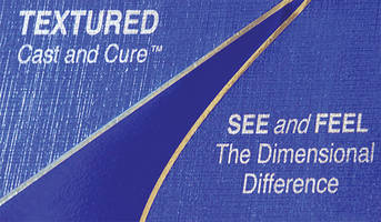Textured Decorative Finishes use Cast & Cure™ technology.