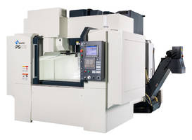 Vertical Machining Centers are equipped with CAT 40 spindle.