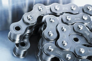 Conveyor Chains feature seamless sintered bushes.