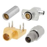 BMA Connectors and Adapters feature gold-plated BeCu contacts.