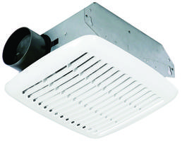 CF Bathroom Exhaust Fans feature galvanized steel housing.
