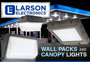 LED Wall Packs and Canopy Lighting- High Output, Low Profile