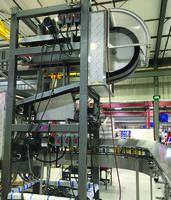 Ionizing Air Rinsing Gripper Conveyors