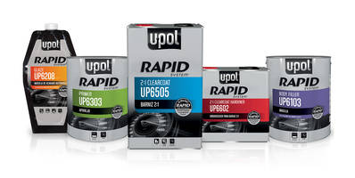 New U-POL Rapid System Refinishing Line Designed to Reduce Cycle Time and Increase Productivity