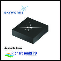 RF Front-End Module offers less than 800 ns switching time.
