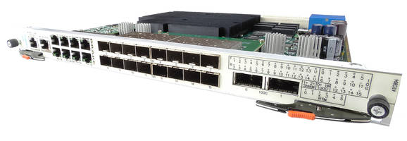 ATCA 40GbE Switches deliver switching throughput of 1.2 TBit.