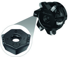 Walter's Heptagon Milling Cutter comes with enhanced wiper inserts.