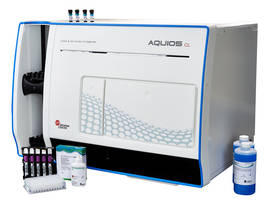 AQUIOS CL Flow Cytometer is designed for handling user-defined tests.
