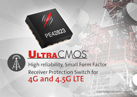 UltraCMOS® PE42823 RF Switch features built-in ESD protection.