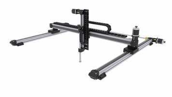 Syncronized XY Gantries BEMA Series feature synchtonized belt drive.