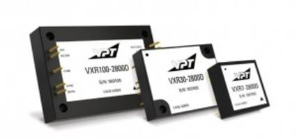 VXR Series DC-DC Converters come with configurable outputs.