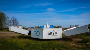 SkyX Systems Corp. Deploys First