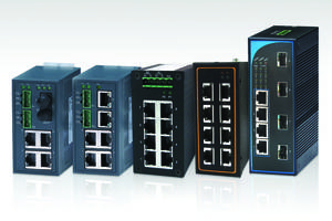 Unmanaged Ethernet Switches meet EN61000-6-4 and EN61000-6-2 standards.