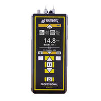 PTM 2.0 Moisture Meter is made of aluminum construction.