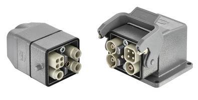 Han-Modular® Twin Housing minimizes production downtime.