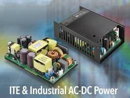 CFM300S Series AC-DC Power Supply delivers power of 300 W.