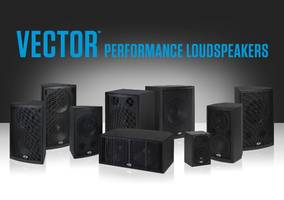 Vector™ Loudspeakers come with coaxial transducer design.