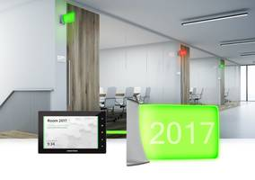 New Crestron Enterprise Room Scheduling Connects Directly to Standard Calendar Platforms