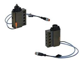 Retracting Micro Pins come with rap coupler integrated pneumatic cylinder.