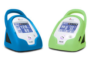 Veterinary BP Monitors are rechargeable.