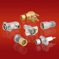 BMA Connectors and Adapters offer maximum operating frequency of 22 GHz.