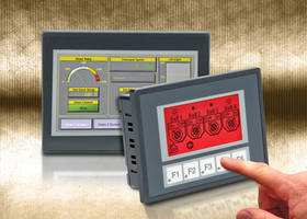 Micro HMI Touch Panels feature two serial communications ports.