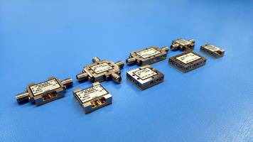 Multi-Function Modules feature removable SMA connectors.