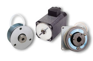 Electromagnetic Clutches and Brakes provide static torque of 250 lb-in.