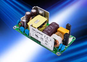 CSS65A Series AC-DC Power Supplies meet IEC 61000-3-2 and IEC 61000-4 standards.