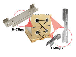 6-1/4-in. Long H-Clip is suitable for small roll packages.