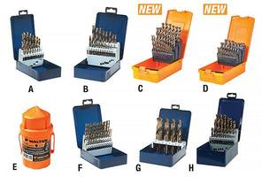 SST™ Drill Bits feature self-centering split point.