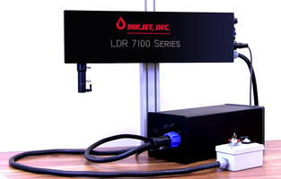 LDR 7100 Coding and Marking Systems can generate up to 4,000 characters per sec.