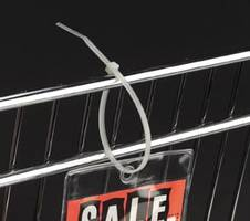 LK Permanent Locking Strap is suitable for larger signage or fixtures.