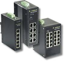 Ethernet Switches are operated from -40 °C to +75 °C temperature range.