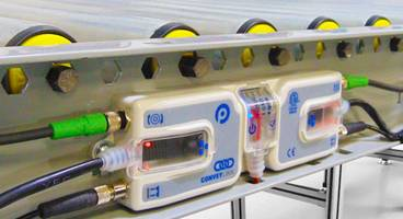 Motor Driven Roller Conveyors are equipped with 24 volt DC motors.