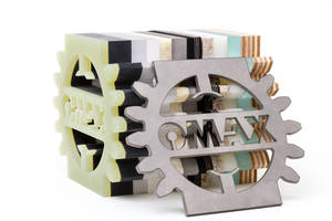 OMAX Highlights Waterjet's Composite Cutting Capabilities at CAMX 2017