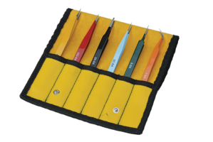Aven E-Z Pik Tweezers: Color Coated for Easy Identification