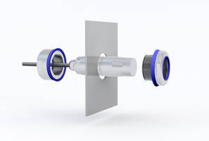 PiL P53 Sensor Mounting Kit is made from polished V4A grade stainless steel.