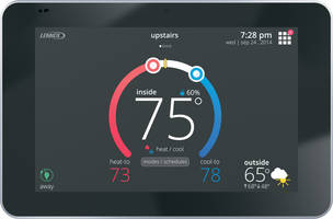 iComfort E30 Smart Thermostat features schedule IQ technology™.