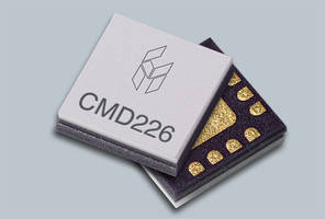 CMD226N3 Frequency Doubler is housed in QFN-style package.