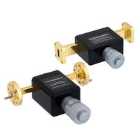 Waveguide Phase Shifters provide phase shift of 0 to 180 degrees.
