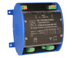 VTD-BD Series Voltage Transducer features input/output isolation.