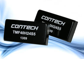 40-Watt DC/DC Converter is RoHS compliant.