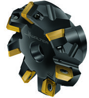 M4003 Face Milling Cutter comes with positive geometry inserts.