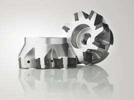 R220.88 Face Milling Cutter features inserts with eight cutting edges.
